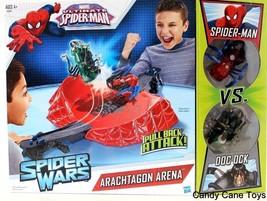 Marvel Spider Wars Arachtagon Arena Spiderman vs Doc OCK - $28.04