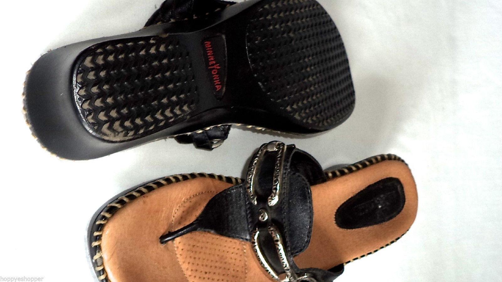 e2f6b2a3da415 MINNETONKA sandals flip flops leather low and 50 similar items