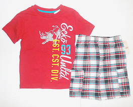 Ecko Boys 2 Piece Shorts Outfit Sizes 4 and 6 NWT - $18.84