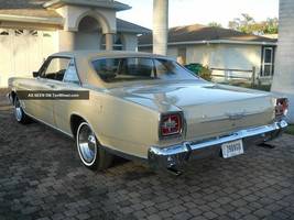 1966 Galaxie 500 (rear) POSTER 24 X 36 INCH | garage and bedroom decor - $18.99