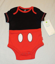 NEW Disney Baby Shower, Mickey Mouse Costume Bodysuit, Size 0-3 Months - $7.99