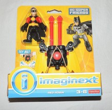 NEW Fisher Price Imaginext DC Super Friends Red Robin Glider Batman - $14.99