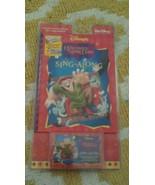 Disney The Hunchback of Notre Dame Cassette Sing Along Song Book Soundtr... - $5.89