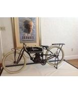 Amazing 1915 Harley Davidson Folk Art Replica, Rare c.1965  - $4,800.00