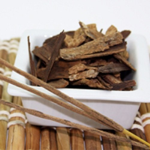 Sandalwood and patchouli