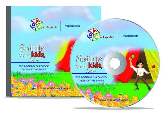 Saints were kids  too  audio book  cd  by abcatholic
