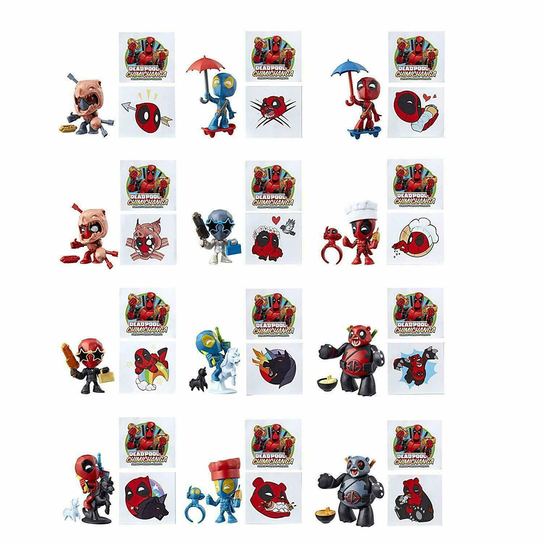 Hasbro Deadpool Chimichanga Surprise Mystery Pack Marvel Mini Figure 1 NEW Pack