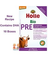 Holle Stage Pre Organic Infant Formula with DHA 10 Boxes 400g Free Shipping - $247.95