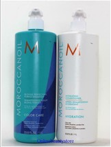 Moroccanoil Blonde Perfecting Purple Shampoo and Hydration Conditioner 3... - $104.99