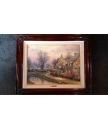 THOMAS KINKADE Lamplight Lane 18 x 24 Canvas A/P 159/200 - $2,995.00