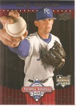 Luke Hochevar Upper Deck 2008 #UD16 National Baseball Card Day Rookie Ca... - $0.75