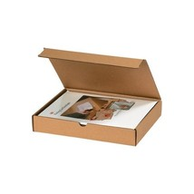 """Literature Mailers, 12"""" x 12"""" x 6"""", Kraft, 50/Bundle"" - $240.89"