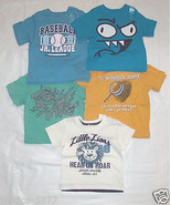 The Children's Place Infant Boys TShirts Rock Star Baseball Various Size... - $9.99