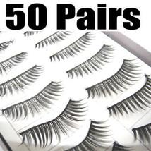 LOT of 50 pairs Daily Normal Makeup False EyeLashes NEW - $16.65