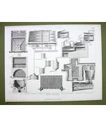 ALCOHOL Distilling Apparatus Drying Kilns Furna... - $17.82
