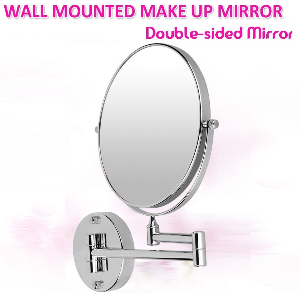 double sided bathroom mirror wall mounted bathroom mirror with arm and 11 similar items 18183