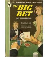 the big bet paperback book by edward harris heth poker gambling - $7.99