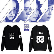 KPOP FX (fx) Sweater Unisex Hoodie 2016 New Long Sleeve KRYSTAL Pullover... - $13.99
