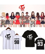 Kpop TWICE Tshirt MINI Album PAGE TWO MOMO Sana DAHYUN Na Yeon Tee T-shirt - $11.99