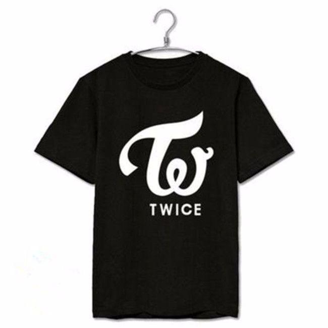Kpop TWICE Tshirt MINI Album PAGE TWO MOMO Sana DAHYUN Na Yeon Tee T-shirt