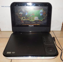 """Philips PD700/37 7"""" White Portable DVD Player Car Widescreen Movies Media - $38.57"""