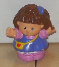 Fisher Price Current Little People Girl Figure - $3.00
