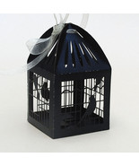 100pcs Black Bird Cage Wedding Gift Boxes,chocolate packaging Boxes with... - $34.00