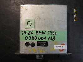 79 80 BMW 528i ECU #0 280 001 118 *See item description* - $63.35