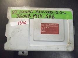 86 87 Honda Accord 2.2 L A/T Ecu/Ecm #36048 Ph4 686 *See Details* (1346) - $54.45