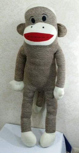 Maxx the Sock Monkey Giant Large Plush Stuffed Animal 42
