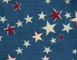 Longaberger Medium Serving Basket Liner ~ American Starburst Fabric - $13.72