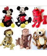 Disney Mickey Minne Baby Safety Harness Leash Bags Backpack Carrier Sling Strap  - $21.00