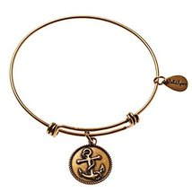 Bella Ryann Gold-Plated Anchor Charm Bracelet