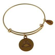 Bella Ryann Gold-Plated Crab Charm Bracelet