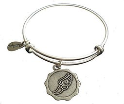 Bella Ryann Hermes Runner's Foot Silver Charm Bangle Bracelet