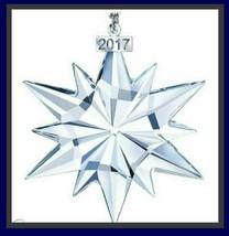 Neu Swarovski Kristallklar Weihnachten Ornament 2017 Weihnachten Schneeflocke