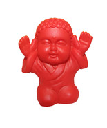 Pocket Buddha Red Praise Buddhism Mini Figure Figurine Toy - $4.99