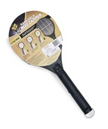 Electric Insect Killer Mosquito Fly Swatter Bug Zapper Handheld Tennis R... - $16.58