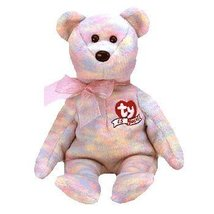 TY Beanie Babies Celebrate Bear Plush Toy Stuffed Animal - 15th Annivers... - $0.99