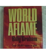 World Aflame by Billy Graham.Hardback  - $2.00