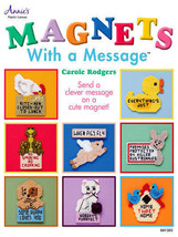 Magnets With a Message Plastic Canvas Patterns Designs Refrigerator Anim... - $8.73