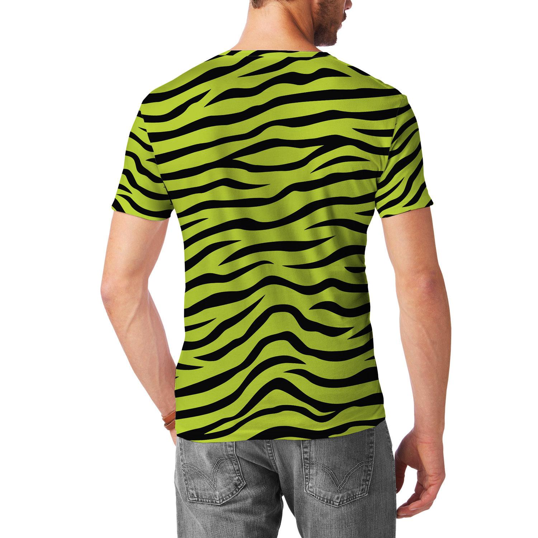 Men/'s ZEBRA Print SUSPENDERS Y Shape Back Elastic Button /& Clip Convertible