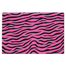 Zebra Print Bright Pink Door Mat - $32.99+