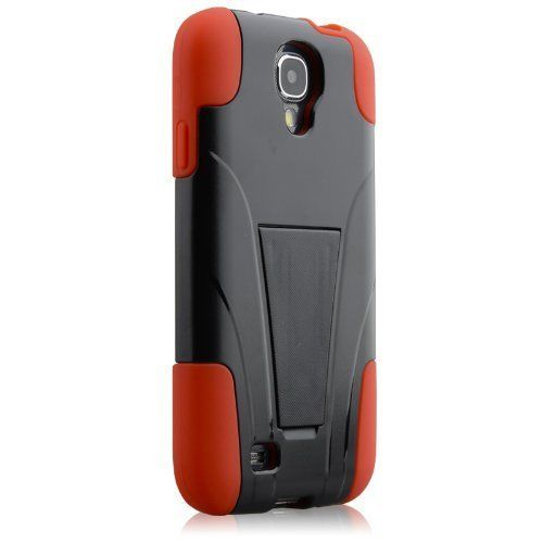HyperGear Terminator Galaxy S4 Case Cover Blk/Red