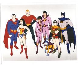 Super Friends Vintage 11X14 Color Cartoon TV Memorabilia Photo - $13.95