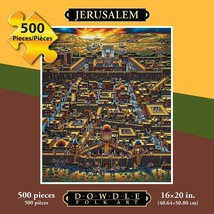 Jerusalem   folk art   puzzle   500 pieces thumb200