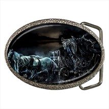 Dark Chariot Fantasy Chrome Finished Belt Buckle - $9.65
