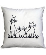 Pillow Decor - Aristocats 16x16 Throw Pillow - ₨2,574.04 INR