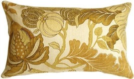 Pillow Decor - Harvest Floral Yellow 12x20 Throw Pillow - €40,75 EUR