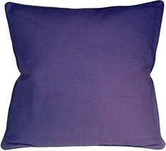 Pillow Decor - Ribbed Cotton Lilac 18X18 Throw Pillow - €16,27 EUR